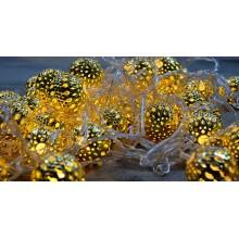 Гирлянда «Восточная сказка» (шарики 40мм)