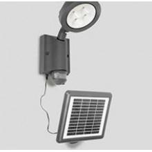 Светодиодный солнечный прожектор c датчиком света и движения АК-4-3-02