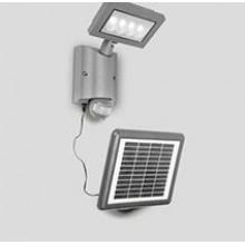 Светодиодный солнечный прожектор c датчиком света и движения АК-4-3