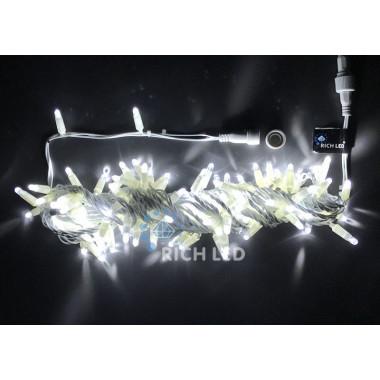 Светодиодная гирлянда Rich LED Нить 10 м, желтая